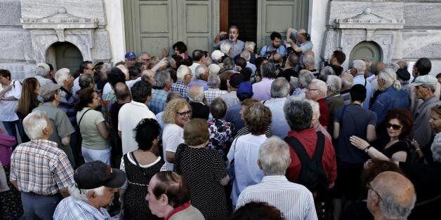 Δεύτερη ημέρα οι συνταξιούχοι στις τράπεζες - Ποια υποκαταστήματα είναι