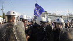 Οι «Μένουμε Ευρώπη» εναντίον αντιεξουσιαστών στο