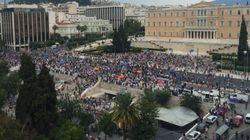 Συλλαλητήριο των «Μένουμε Ευρώπη» στο