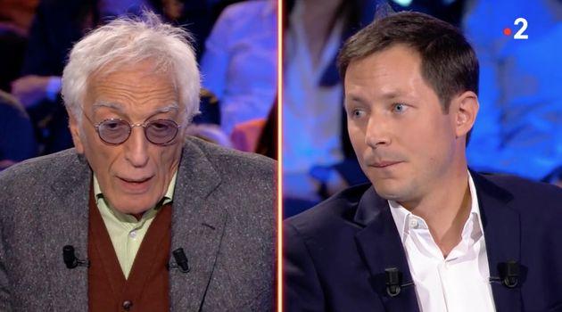 "Dans ""ONPC"", Gérard Darmon interpelle François-Xavier Bellamy sur la PMA"