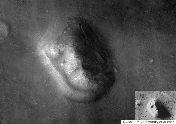Νέο διαστημικό «μυστήριο»: H «πυραμίδα» και τα φώτα της Δήμητρας, μετά από αυτές του