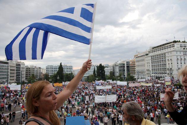 «Ρήξη με την λιτότητα τώρα!»: Διαδήλωση αλληλεγγύης στο