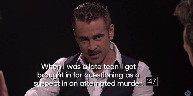 Ο Colin Farrell αποκάλυψε πως κάποτε συνελήφθη για απόπειρα
