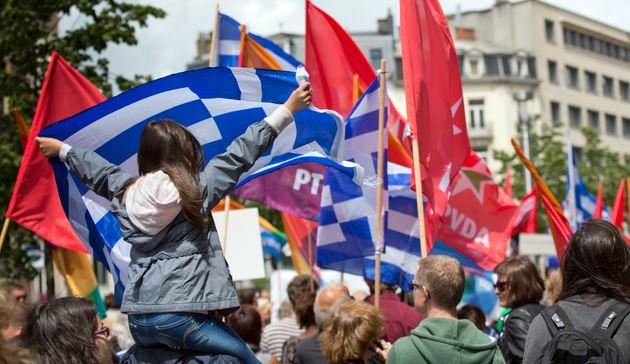 Συγκέντρωση αλληλεγγύης για την Ελλάδα και στις