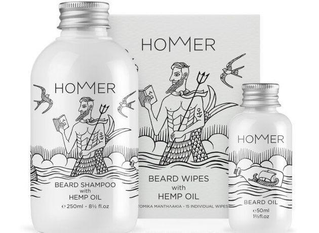 HOMMER: Ανδρικά προϊόντα περιποίησης εμπνευσμένα από τον Όμηρο και τη