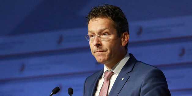 Eurogroup president Jeroen Dijsselbloem participates in the Informal Meeting of Ministers for Economic...
