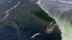Οι πιο ριψοκίνδυνοι σέρφερ δαμάζουν τα κύματα στον «κάβο του