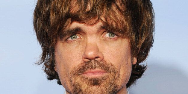 BEVERLY HILLS, CA - JANUARY 15: Actor Peter Dinklage poses in the press room with the Best Performance...