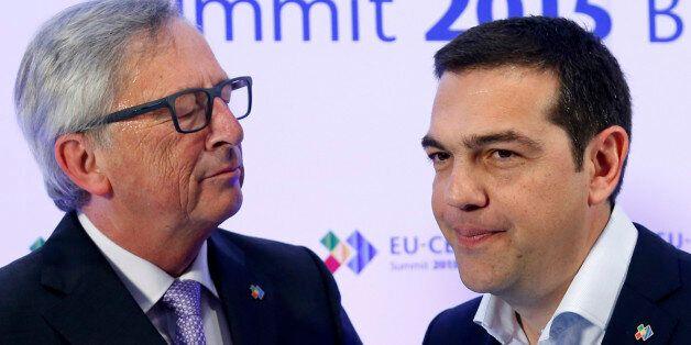 Ο πρωθυπουργός και ο πρόεδρος της Κομισιόν, Ζαν Κλοντ
