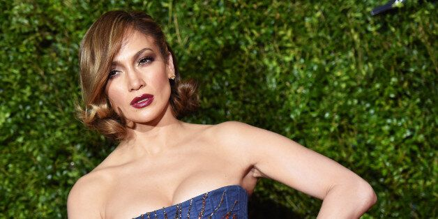 NEW YORK, NY - JUNE 07: (EDITORS NOTE: Image has been processed using digital filters.) Jennifer Lopez...