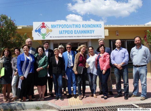 To Ευρωπαϊκό Κοινοβούλιο βραβεύει το Μητροπολιτικό Κοινωνικό Ιατρείο Ελληνικού για την ανυπολόγιστη κοινωνική...