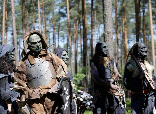 «Η Μάχη των Πέντε Στρατών» από το Hobbit αναβιώνει στα δάση της