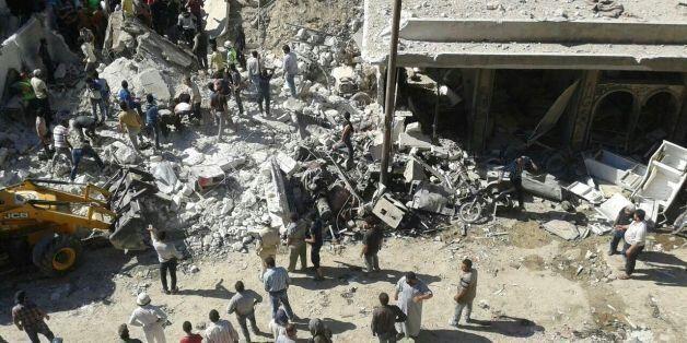 Οι Γιατροί χωρίς Σύνορα αποκαλύπτουν την φρίκη στη Συρία: «Πτώματα παντού, στα τραπέζια, στους διαδρόμους,...