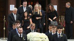 Θλίψη στην κηδεία του ομογενή Σάββα Σαββόπουλου στον Ελληνορθόδοξο Ναό της