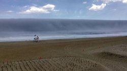 Τσουνάμι... ομίχλης επιτίθεται σε ακτή του Νιου