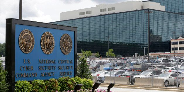 FILE - This Thursday, June 6, 2013 file photo shows the National Security Administration (NSA) campus...