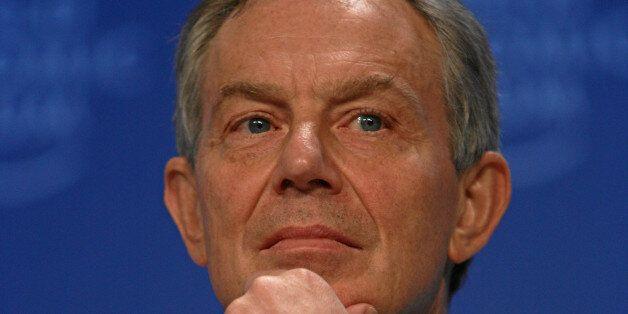 DAVOS-KLOSTERS/SWITZERLAND, 29JAN09 - Tony Blair, UN Middle East Quartet Representative; Member of the...