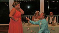 Ο «απόλυτος εφιάλτης κάθε νύφης» σε μια φωτογραφία: Η πρόταση γάμου που εξόργισε το