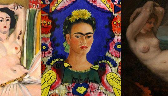 32 φορές που η τέχνη εκθείασε την τριχοφυΐα του γυναικείου