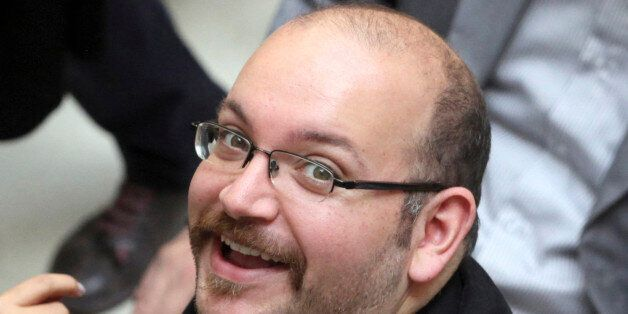 FILE - In this photo April 11, 2013 file photo, Jason Rezaian, an Iranian-American correspondent for...