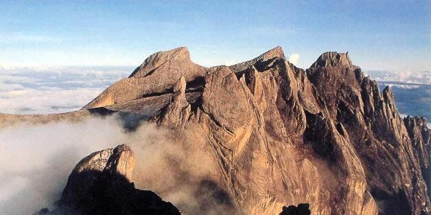 KOTA KINABALU, MALAYSIA: This undated photo shows Mount Kinabalu, South East Asia's highest peak, in...