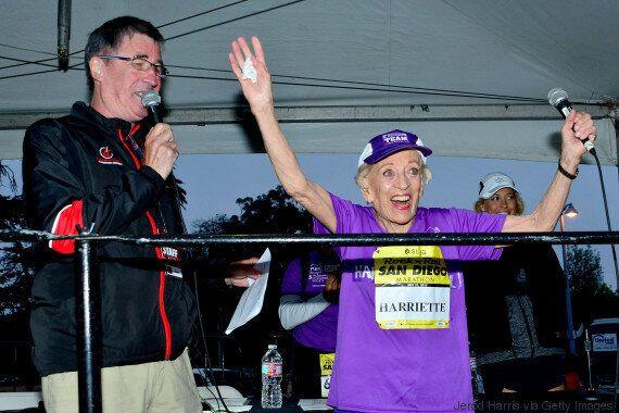 Σε ηλικία 92 ετών και 65 ημερών η Χάριετ Τόμσον τερμάτισε στον μαραθώνιο του Σαν