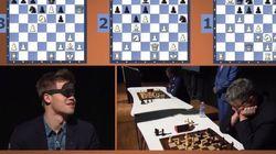 Ο σκακιστής που νίκησε τρεις με τα μάτια