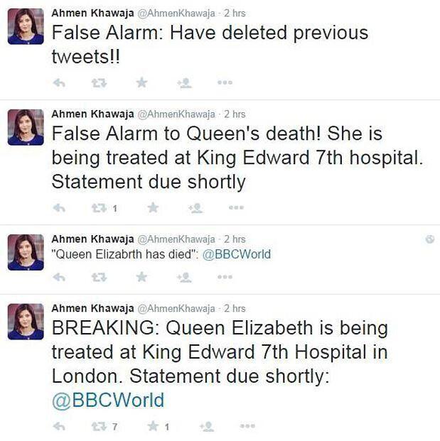 Δημοσιογράφος του BBC «πέθανε» την Βασίλισσα Ελισάβετ πριν την ώρα