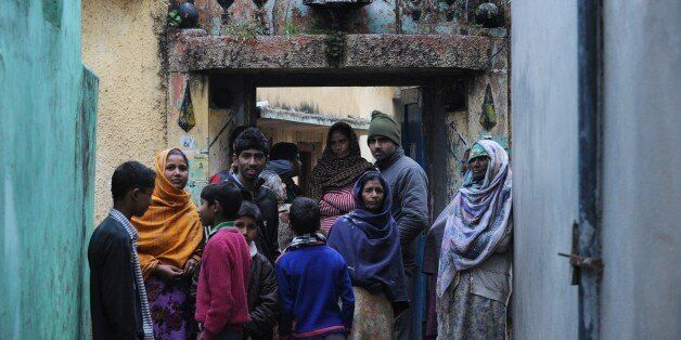 TO GO WITH AFP STORY: India-Pakistan-Kashmir-refugees by Parvaiz BUKHARIIn this photograph taken on March...