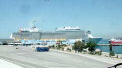 Quantum of the Seas: Το θεόρατο κρουαζιερόπλοιο που έδεσε στον Πειραιά