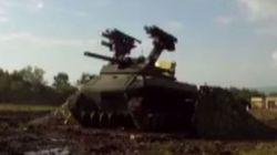 Ρωσικά πολεμικά ρομπότ σε δοκιμές