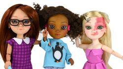Η εταιρεία που κατασκευάζει κούκλες με ειδικές ανάγκες, ουλές και