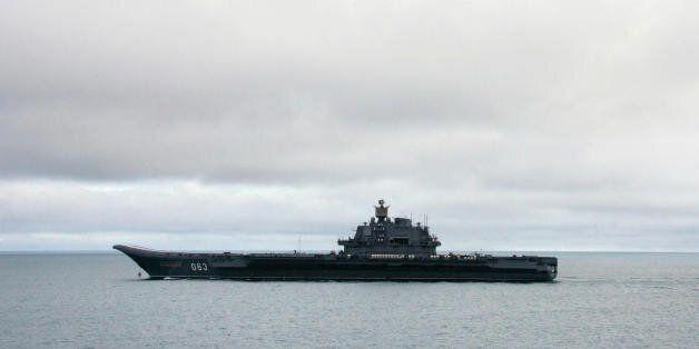 Το μοναδικό ρωσικό εν ενεργεία αεροπλανοφόρο, «Ναύαρχος