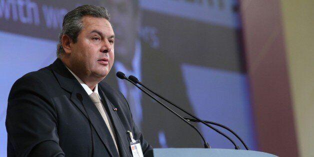 Καμμένος: Θα προτείνουμε τη δημιουργία νέας ΝΑΤΟϊκής βάσης στο