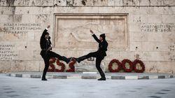 Οι Πόντιοι της Προεδρικής Φρουράς: Από το προαύλιο της μονάδας στο Μνημείο του Αγνώστου