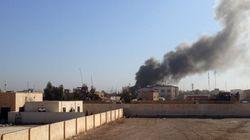 Η μαύρη σημαία του Ισλαμικού Κράτους κυματίζει πλέον στο κτίριο της τοπικής κυβέρνησης του