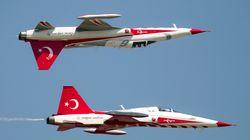 Για δεύτερη φορά φέτος τουρκικά F-16 πετάνε πάνω από την
