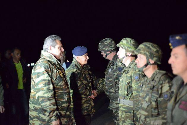 Η νύχτα έγινε μέρα κατά την στρατιωτική άσκηση «Νυχτερινή