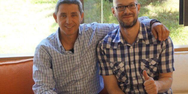 Οι ιδρυτές του YourGreekOliveOil, Χρήστος Παπαηλιόπουλος και Γιάννης