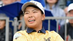 渋野日向子、8打差から逆転優勝 ゴルフ全英女子オープン制覇後初めて