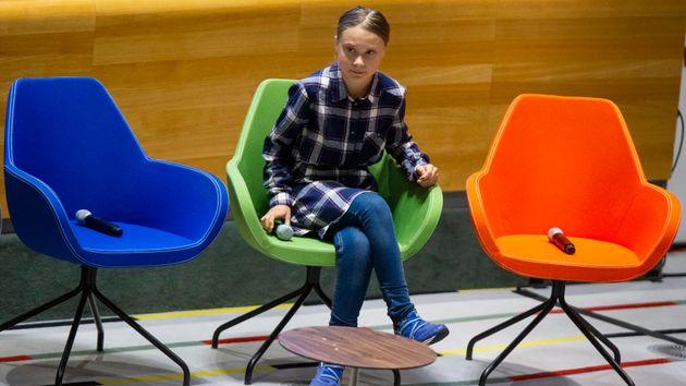 Greta Thunberg alle Nazioni
