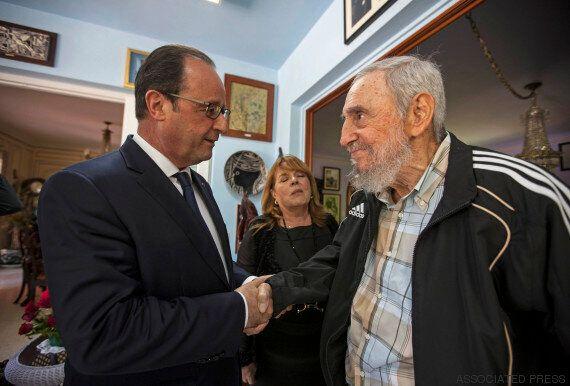 Ο Φρανσουά Ολάντ συνάντησε τον Φιντέλ Κάστρο στην Κούβα: «Είχα μπροστά μου έναν άνθρωπο που έγραψε