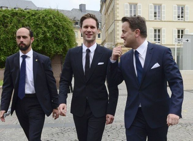 Τον σύντροφό του παντρεύτηκε ο πρωθυπουργός του
