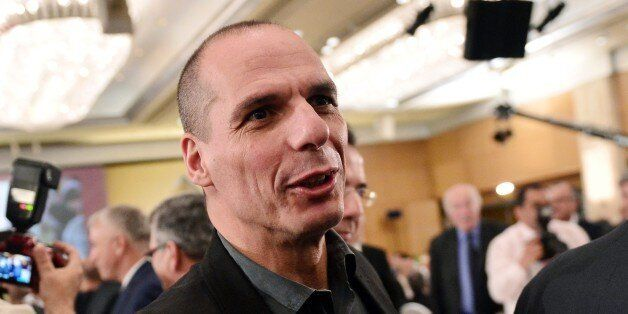 Greek Finance Minister Yianis Varoufakis attends the Economist conference entitled 'Europe: The comeback...
