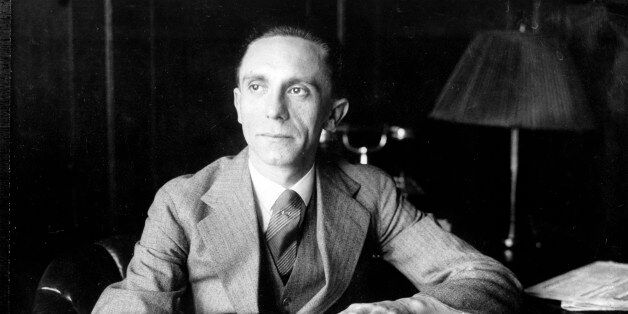 Joseph Goebbels, Third Reich Commissioner for Radio and Propaganda, is shown in the 1930s. (AP