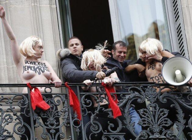 Έρχεται το πρώτο παράρτημα των FEMEN στην