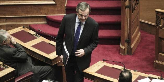 Ανοιχτός σε συνεννόηση με την κυβέρνηση ο Σαμαράς, αλλά μόνο εάν «εγκαταλείψει τις ιδεοληψίες