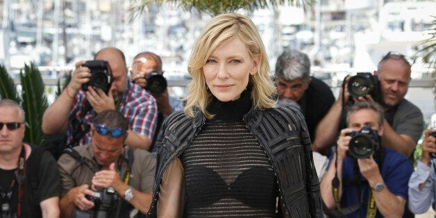 Cate Blanchett poses for photographers at the photo call for the film Carol, at the 68th international...