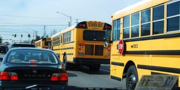 Keep em rolling, tax money at work. Fairfax County Schools