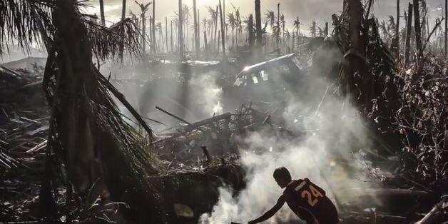 Συγκλονιστικές εικόνες από το πέρασμα του τυφώνα Νουλ στις